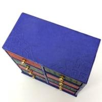 韓紙工芸作品 新作ご紹介「2017年展示会に向けて」(44)八引出ミニ箪笥