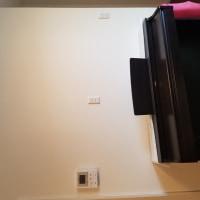液晶テレビを壁掛け設置