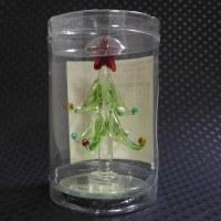ダイソー クリスマス かわいいガラスのツリー
