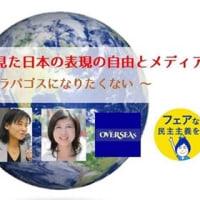国際社会から見た日本の表現の自由とメディア 藤田早苗氏講演(国連調査を実現させた英国エセックス大学人権センターフェロー)