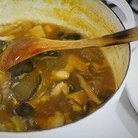 ローストビーフ弁当・きのこスープ・・・おっと弁