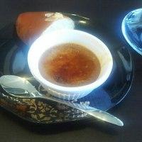 紅茶が残ったので紅茶ブリュレーつくりました。