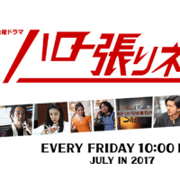 7月スタート 金曜ドラマ 『ハロー張りネズミ』🌟