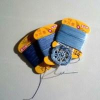Tatting:糸の話  絹穴糸