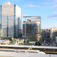 静岡と浜松の駅ビルから見える新幹線 (2016年10月16日ほか)