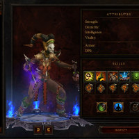 Diablo3��1st �ץ졼���ϡ�Witch Doctor (�����å��ɥ�����)