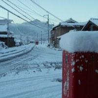 02/12 積雪13cm 07:10頃