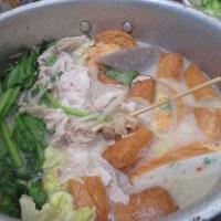 ごまだれ冷麺で月曜の昼ご飯