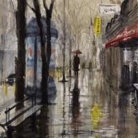 「 パリの街角 4 」