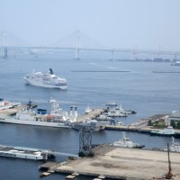 横浜港 ( 2016.6.20 - 1 ) 「ぱしふぃっくびいなす」