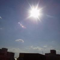2017/4/29  午前8時過ぎ札幌の空模様