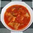 鶏ときのこの和風トマト煮