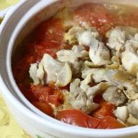 インスタントラーメン&トマト鍋