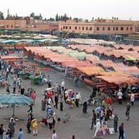 モロッコの旅【Ⅹ】世界遺産 マラケシュ旧市街