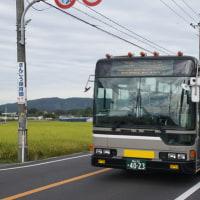 宇野バスを撮影