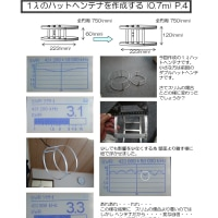 1λハットヘンテナを作成する P.4