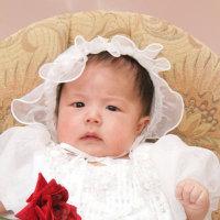 プリンセス。・・心乃華・ドレスアップ、でお宮参りの、記念写真。・・・