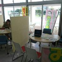 沖縄女子短大での面接会