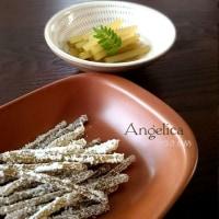 アンゼリカと、蕗の煮物