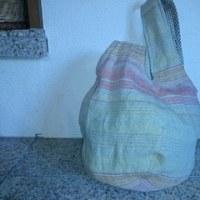 一枚仕立てのバッグできました