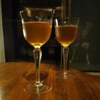 深夜のジイサン達の乾杯