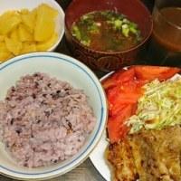 「今日のお昼ご飯」!!「トンテキ」!!