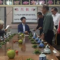 10月22日 活動報告1 千葉市長とランチミーティング
