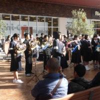 館山市内3中学校合同チャリティーコンサート(イオンタウン館山にて)