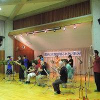 フルートアンサンブル「もりの笛」公民館祭りに出演
