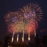 雨の2016年・やつしろ全国花火競技大会 その2