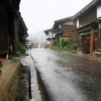 雨の木曽路を 下る  2017年5月1日