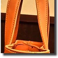 オーダメイド ちょと大きめヌメ革のトートバック