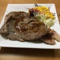 仙台牛のステーキにしました