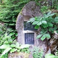 若山牧水歌碑(白骨温泉)