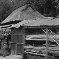 茅葺民家 兵庫県旧千種町の民家