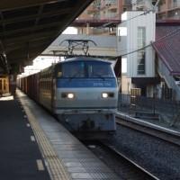 EF66-130号機@吹上駅