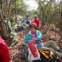 12 長者山山系(510m:安芸区・安佐北区)登山  食事の場所を