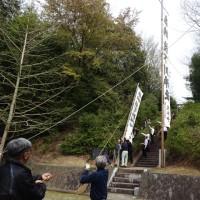 2017年4月16日枝下川神社例大祭及び通水始め式