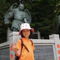 マッキーのお出かけ:亀戸天神の藤祭りと高尾山山歩き