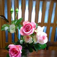 バラの花を・・・