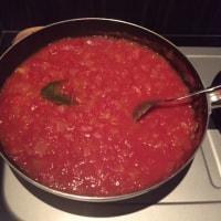 ホットサンド ~トマトソースで~