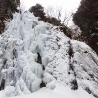 米子大瀑布 氷瀑
