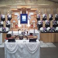 折本さんの告別式。