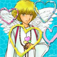 天使にハートマーク