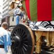 祇園祭【後祭り」の主役【大船鉾】の辻回しから鉾町へ