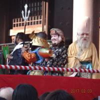 楠田神社~東長寺へ