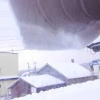 今日の望来は雪