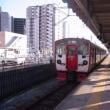 熊本駅0B番ホームに至った