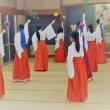 新人巫女の舞稽古☆20回目