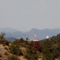 遥かに見える「姫路城」